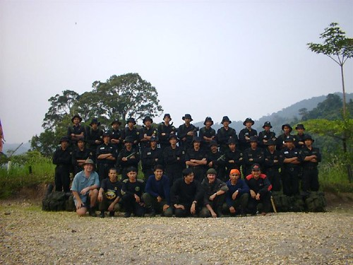 Tiger Protection Units - Bukit Tigapuluh National Park - Sumatra Indonesia