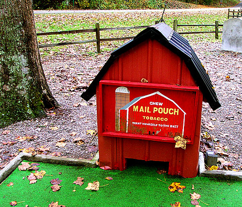 Mail Pouch Barn Replica