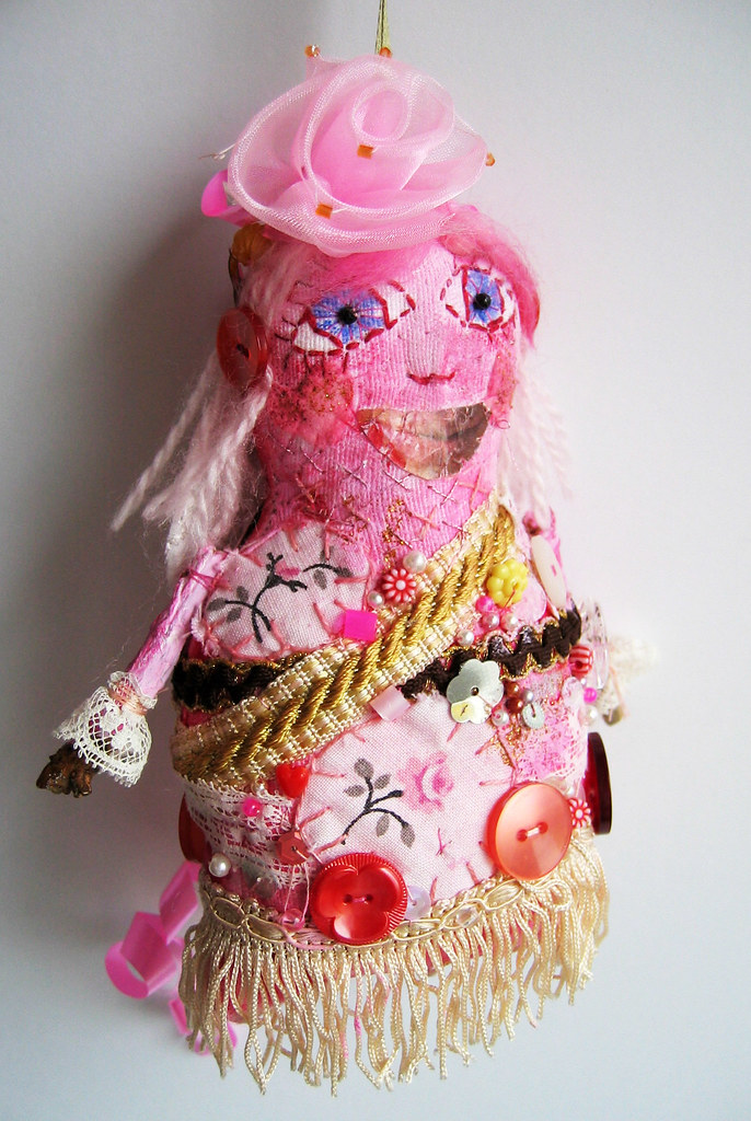 Art doll #2 made by iHanna, Swedish Artist