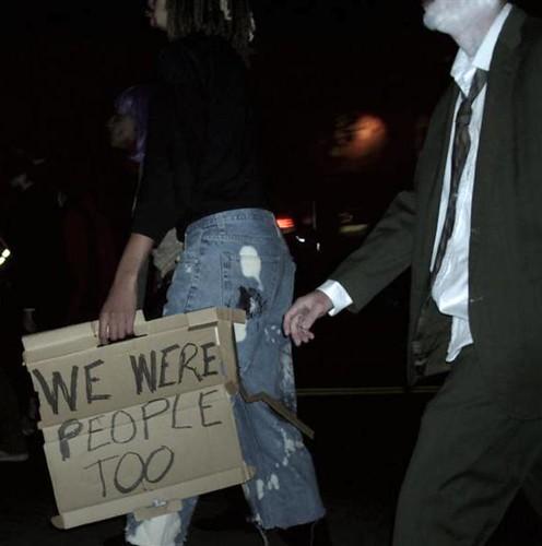 Zombie activist