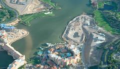 sport venue(0.0), artificial island(0.0), bird's-eye view(1.0), aerial photography(1.0), marina(1.0), waterway(1.0),