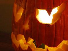flower(0.0), lantern(0.0), flame(0.0), petal(0.0), carving(1.0), orange(1.0), yellow(1.0), red(1.0), pumpkin(1.0), light(1.0), darkness(1.0), jack-o'-lantern(1.0), lighting(1.0),