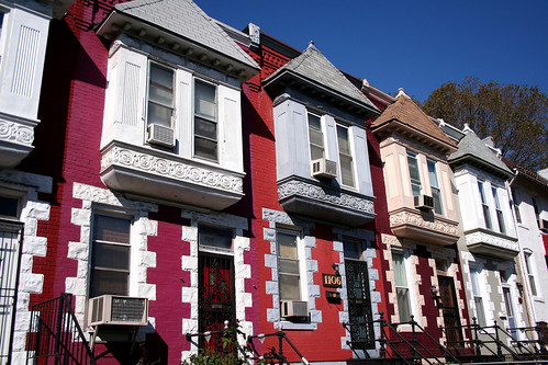Rowhouses on 8th Street NE (by Gallaudet University), Washington DC