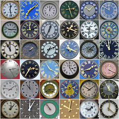 squared circles - Clocks