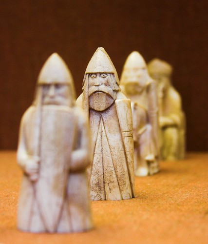 The Warder, Lewis Chessmen, British Museum