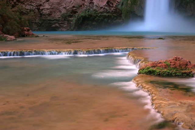 Mooney Falls - Havasu Canyon - AZ