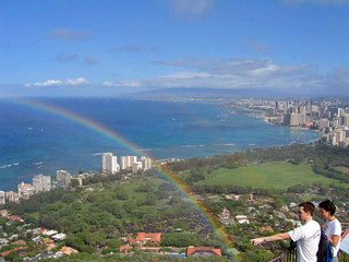 Touching the Rainbow, Waikiki, Hawaii