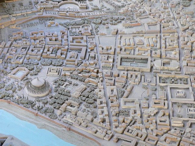 Model of Ancient Rome: Campus Martius