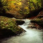 Autumn River 二口渓谷の紅葉