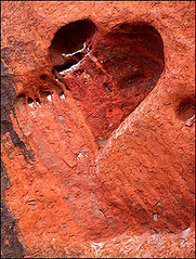 heart-shaped cave