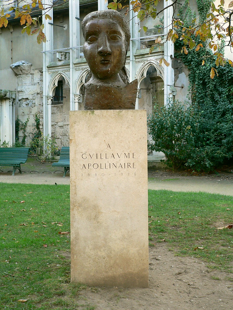Monument à Guillaume Apollinaire