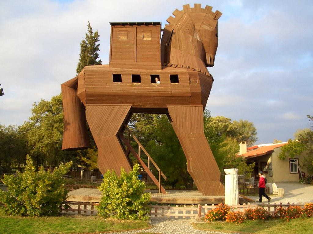 Trojan Horse in Troy/Truva