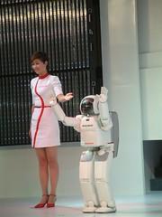 本田的ASIMO机器人