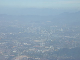 Kuala Lumpur from the air