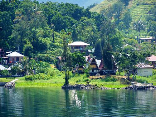 Tuk Tuk Samosir Lake Toba Sumatra Indonesia Flickr