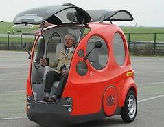 AIRPod 的車門設計。汽車研發國際公司(MDI)提供。
