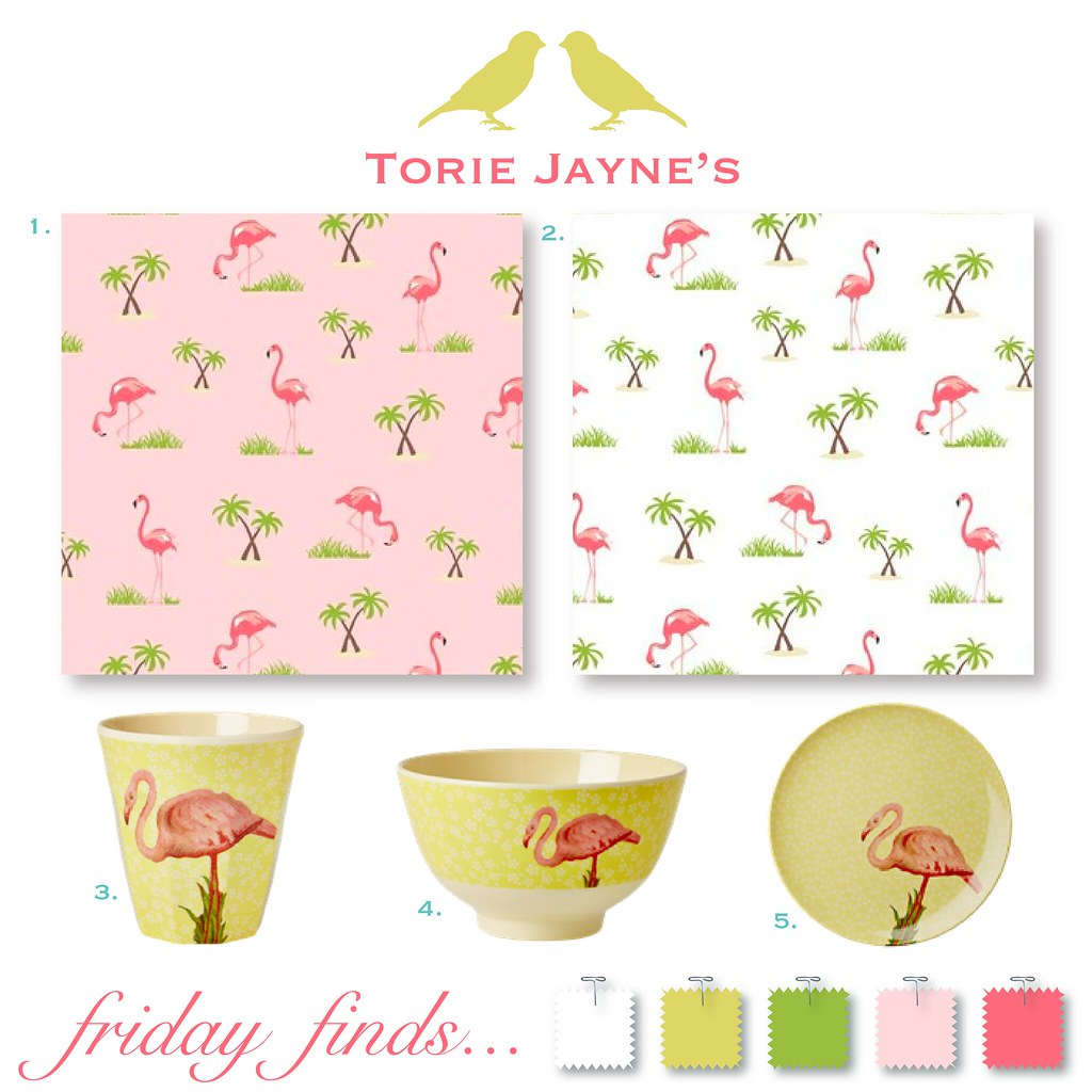 Friday finds... Flamingo Fun