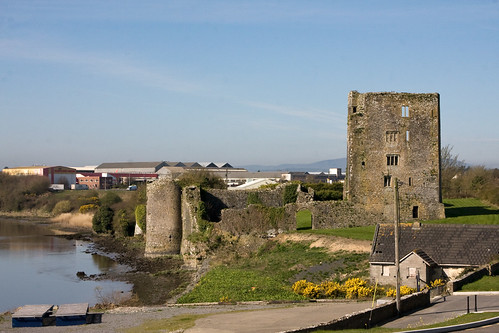 Grannagh Castle, on the River Suir