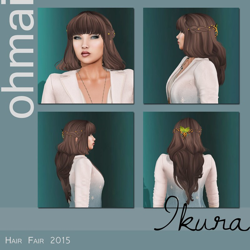 Ohmai at Hair Fair 2015