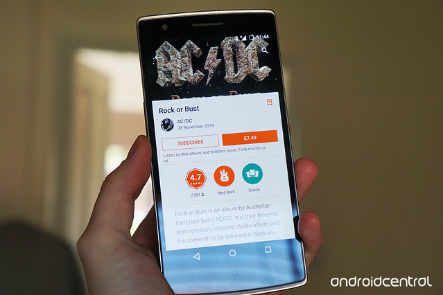 You can now rock out to AC/DC on Google Play Music, Spotify, Rdio and Deezer