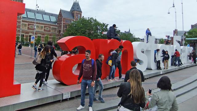l amsterdam sculpture in Amsterdam