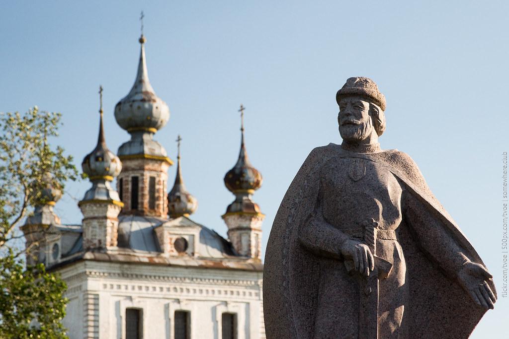 Памятник Юрию Долгорукому в Юрьеве-Польском
