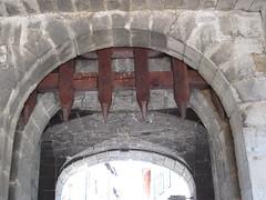 Portcullis in Briançon