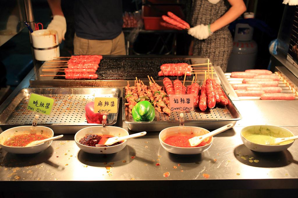 20150723萬華-山豬王香腸、肉串 (3)