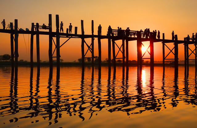 myanmar itinerary u bein bridge