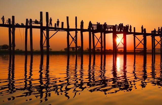 myanmar itinerary u bein bridge