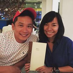 Despedida dinner with @kikoman75. We will miss you, Kix. #Singapore #summer #epic
