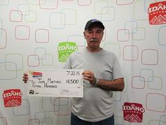 Juan Martinez  - $1,500 Mega Millions