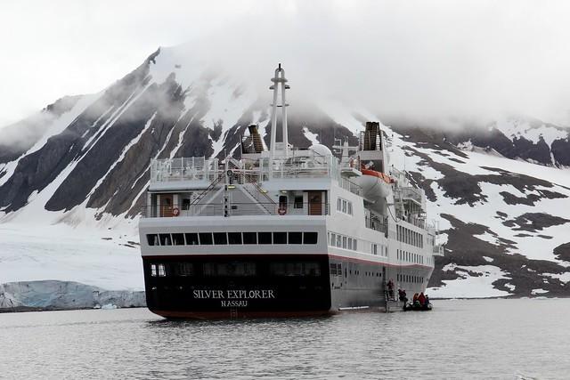 Burgerbukta Glacier, Svalbad, Arctic