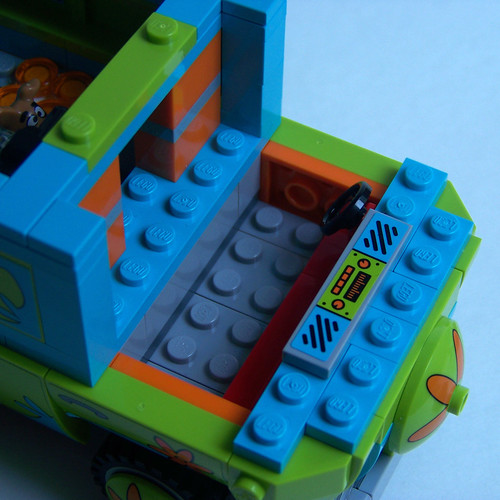 LEGO Scooby Doo Mystery Machine interior