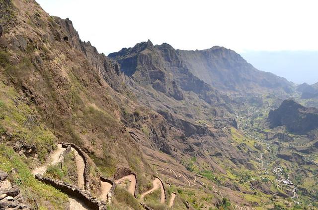 Cova crater, Santo Antao, Cape Verde