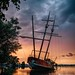 Abandoned Sail Boat by Jesse James Photography