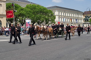 Parade 150 J. FF in München 2016-a