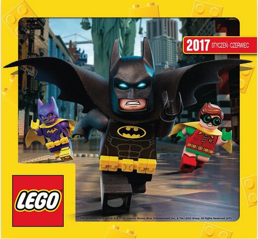 Katalog Lego Styczeń - Czerwiec 2017 Polski