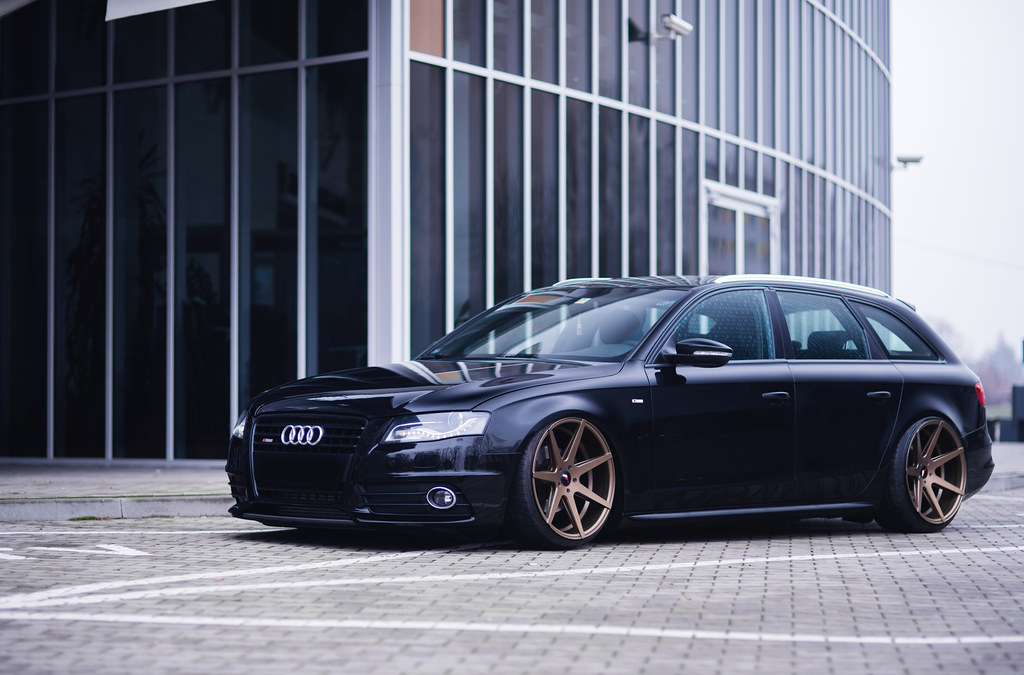 Audi A4 B8 Jr20 Front 20x10 Rear 20x11 Japan Racing
