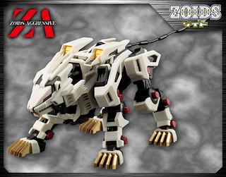 究極的完全野生體!壽屋 ZOIDS AGGRESSIVE 1/100 洛伊德 「長牙獅零式」 ライガーゼロ