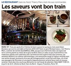 LES SAVEURS VONT BON TRAIN - 20 MINUTES