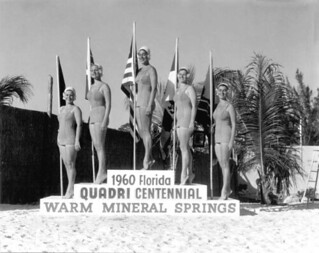 Women at Florida Quadricentennial Festival - Warm Mineral Springs