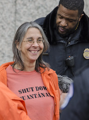 Beth Brockman Is Arrested for Participating in an Anti-Torture Demonstration Inside the Hart Senate Office Building