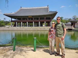 At Gyeongbokgung Palace