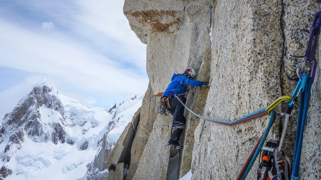 Climbing Cerro Torre in Argentina's Los Glaciares National Park