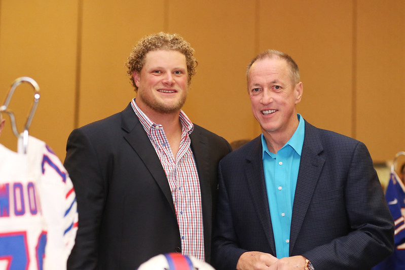 Event photography Buffalo Bills Eric Wood Jim Kelly Fundraiser