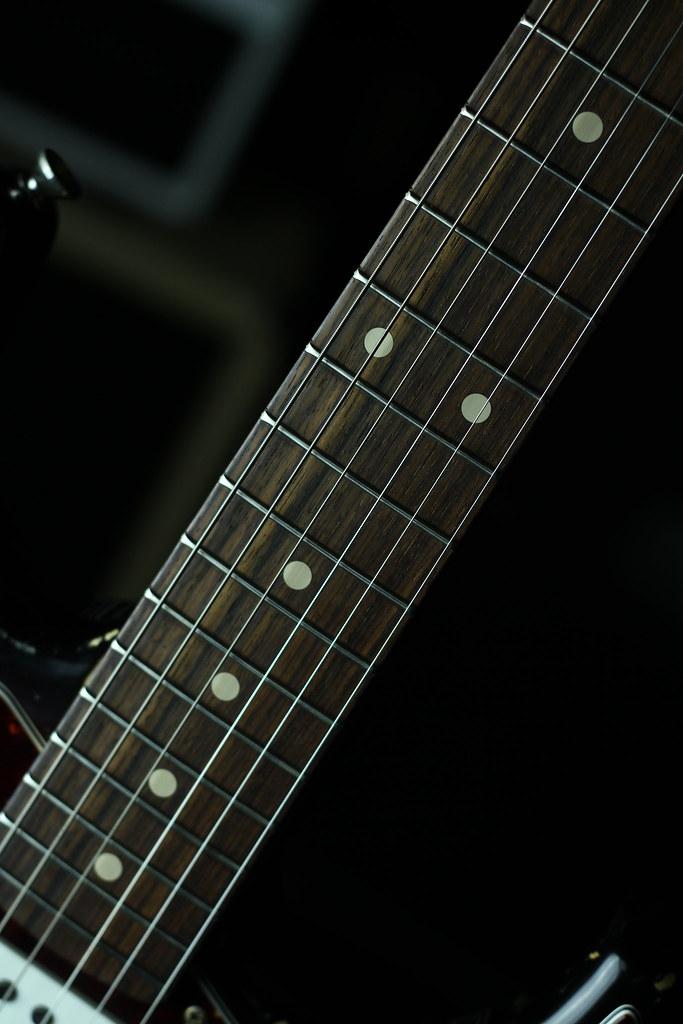 "J.W Black Guitars JWB-S ""Hard Aged ""1 piece Ash Body""  ""SSH+rear push-push"""