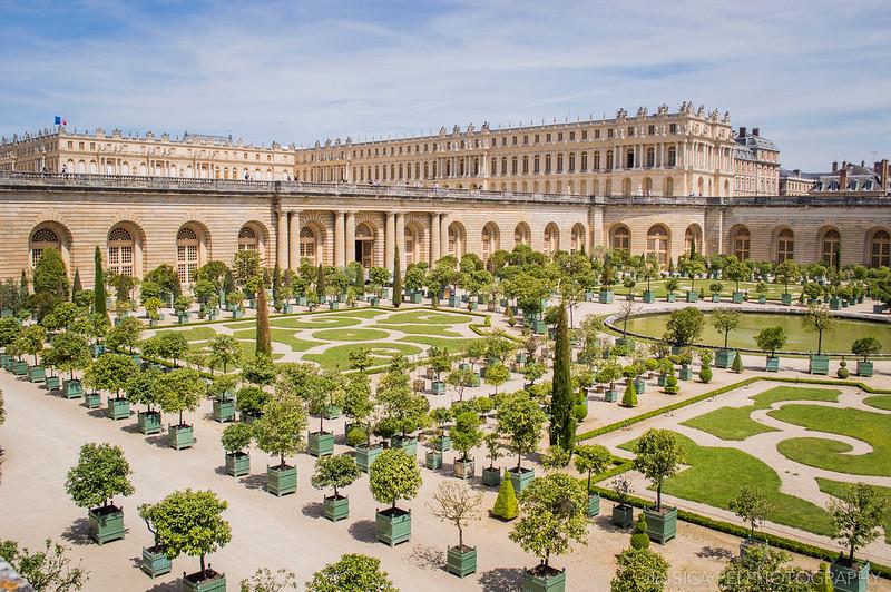 Gardens of Versailles Orangerie