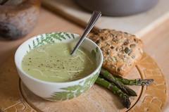 Home-made Asparagus Soup