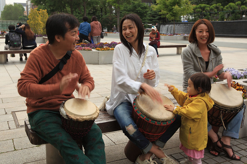 Sapporo drummers